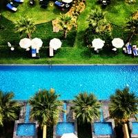 Foto tirada no(a) Rixos The Palm Dubai por Alexandrova E. em 3/24/2013