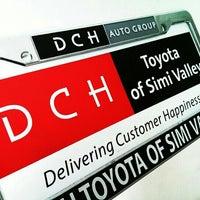 รูปภาพถ่ายที่ DCH Toyota of Simi Valley โดย Isaac H. เมื่อ 1/18/2013