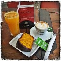 Foto diambil di Café Kairós oleh Bruno B. pada 12/18/2013