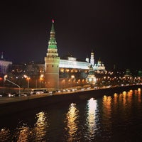 Photo prise au Bolshoy Kamenny Bridge par Маруся М. le4/3/2013