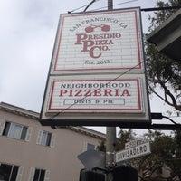 Das Foto wurde bei Presidio Pizza Company von Jaemie am 5/30/2014 aufgenommen