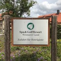 รูปภาพถ่ายที่ Lindner Spa & Golf Hotel Weimarer Land โดย Andreas S. เมื่อ 7/23/2017
