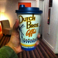 Photo taken at Dutch Bros. Coffee by Jessica F. on 3/10/2013