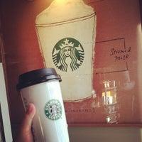 Photo taken at Starbucks by MoniQue on 1/23/2013