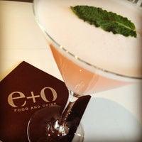 Снимок сделан в E+O Food And Drink пользователем Megan K. 1/31/2013
