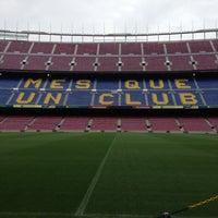 Foto tomada en Camp Nou por Dalton A. el 4/26/2013