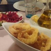 3/31/2016 tarihinde Gokhan T.ziyaretçi tarafından Aytekin Balık & Restaurant'de çekilen fotoğraf