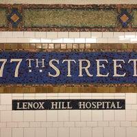 Subway Map 77 Street.Mta Subway 77th St 6 Metro Station In New York