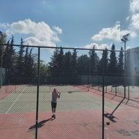 10/7/2018 tarihinde Onur U.ziyaretçi tarafından İTÜ Tenis Kortları'de çekilen fotoğraf