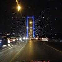 Photo prise au Boğaziçi Köprüsü par Ali Kemal Y. le11/1/2013