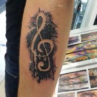 Tattoo black angel 50 Small