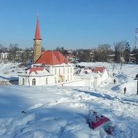 Снимок сделан в Приоратский дворец / Priory Palace пользователем Яна В. 2/24/2013