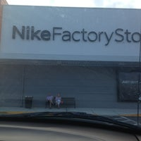 ea30ab1c95f64c ... Photo taken at Nike Factory Store by Maria B. on 2 26 2013