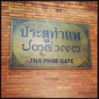 Foto scattata a Tha Phae Gate da Kevin K. il 3/22/2013