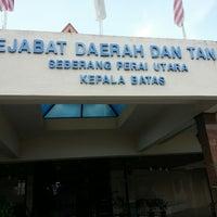 Pejabat Daerah Dan Tanah Seberang Perai Utara Kepala Batas Pulau Pinang