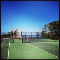 4/21/2013 tarihinde Steve D.ziyaretçi tarafından Alice Marble Tennis Courts'de çekilen fotoğraf