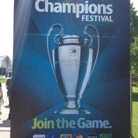Снимок сделан в UEFA Champions Festival 2012 пользователем Hubert F. 5/18/2012
