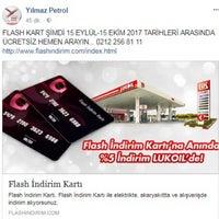 10/1/2017에 Mehmet Y.님이 Lukoil Yılmaz Petrol에서 찍은 사진