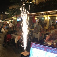 8/31/2013 tarihinde özcan K.ziyaretçi tarafından Calamar Restaurant'de çekilen fotoğraf
