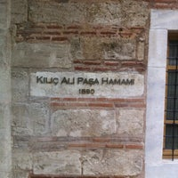 3/23/2013에 barisch님이 Kılıç Ali Paşa Hamamı에서 찍은 사진