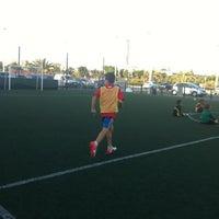 Снимок сделан в Escuela Fútbol L'Aljub пользователем Ismael 9/5/2012