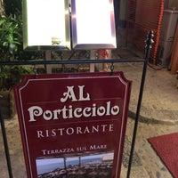 Foto tirada no(a) Al Porticciolo por Michela F. em 4/29/2018