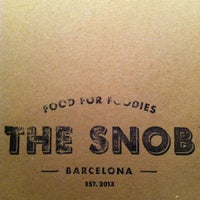 Photo prise au The Snob par Arnau le3/5/2013