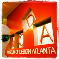 Foto scattata a Museum of Design Atlanta (MODA) da Our Libatious Nature il 10/17/2012