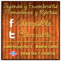 """Foto diambil di Arepa Olé """"Chueca"""" oleh Arepa Olé """"Chueca"""" pada 12/31/2014"""