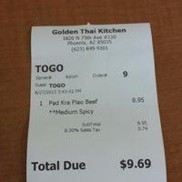 Golden Thai Kitchen 3 Tips