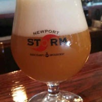 Снимок сделан в Newport Storm Brewery пользователем Brian Votolato 7/19/2013