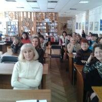 Снимок сделан в Центральная библиотека им. Кропивницкого / Kropyvnytsky Public Library пользователем Игорь Б. 3/27/2013