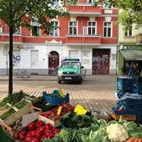 Foto tomada en Wochenmarkt Boxhagener Platz por Tim C. el 9/14/2013