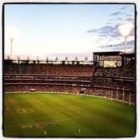 Das Foto wurde bei Melbourne Cricket Ground (MCG) von Peter B. am 6/10/2013 aufgenommen