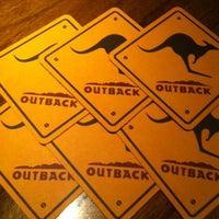 Снимок сделан в Outback Steakhouse пользователем Ricardo F. 8/4/2013