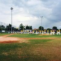 Das Foto wurde bei Mainz Athletics Ballpark von Mishutka O. am 7/23/2016 aufgenommen