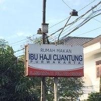7/12/2015에 Wiyanto님이 RM. Ibu Haji Cijantung Purwakarta (Cabang Bandung)에서 찍은 사진