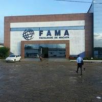 Foto tirada no(a) Faculdade de Macapá - FAMA por Durval P. em 3/12/2013