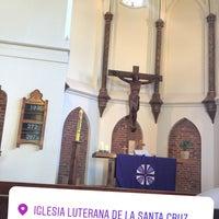 Foto tomada en Iglesia Luterana de La Santa Cruz en Valparaíso por Marcelo C. el 2/25/2018