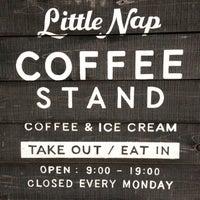 Foto scattata a Little Nap COFFEE STAND da Daishi N. il 7/25/2013