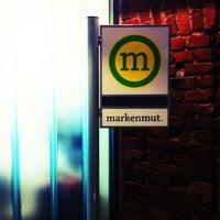Das Foto wurde bei Markenmut Kreatives Marketing AG von Tobias V. am 12/11/2012 aufgenommen