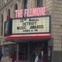 Foto tomada en The Fillmore Detroit por Jesse E. el 4/19/2013