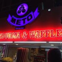 8/29/2014 tarihinde Eda O.ziyaretçi tarafından Meto Dondurma & Waffle'de çekilen fotoğraf