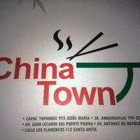 4/23/2014 tarihinde Lucía Isabel R.ziyaretçi tarafından Chinatown'de çekilen fotoğraf
