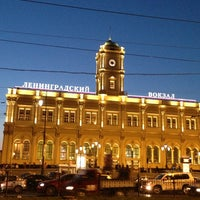Снимок сделан в Ленинградский вокзал (ZKD) пользователем Arina L. 6/23/2013