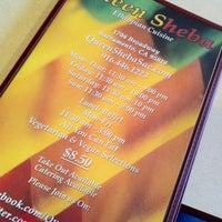 Foto tirada no(a) Queen Sheba Ethopian Restaurant por Raymond T. em 3/16/2013
