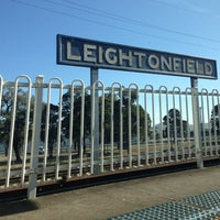 Photo Taken At Leightonfield Station By Jamoer C On 10 2013