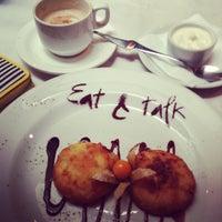 Снимок сделан в Eat & Talk пользователем Ирина Ж. 7/13/2013