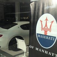 Foto scattata a Maserati of Manhattan da Jameson il 5/2/2013