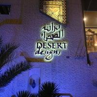 Снимок сделан в Desert Designs пользователем Khalil A. 6/2/2013